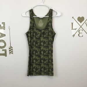FADED GLORY CAMOUFLAGE TANK TOP